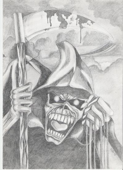 Iron Maiden by nihrida